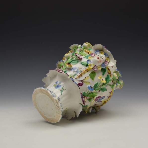 Bow Porcelain Vase and Cover c1765 (10)