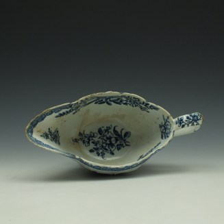 Derby Fisherman and Landscape Pattern Sauceboat c1765 (8)
