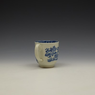 Liverpool John and Jane Pennington Chinese Lady With Boy and Bird Pattern Coffee Cup c1780-90 (5)