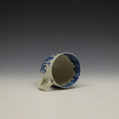 Liverpool John and Jane Pennington Chinese Lady With Boy and Bird Pattern Coffee Cup c1780-90 (8)