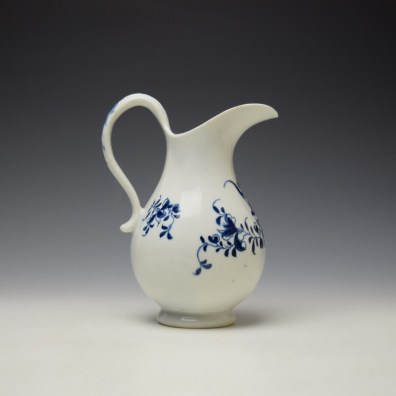Lowestoft Mansifield Pattern Milk Jug c1770-80 (3)