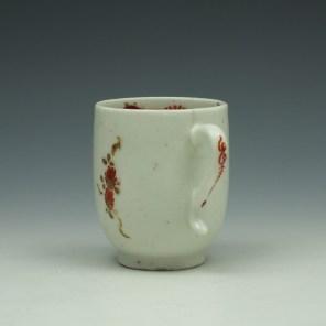 Lowestoft Rose and Cornucopia Pattern Coffee Cup c1785 (5)