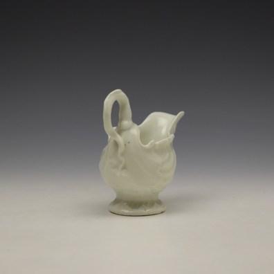 Worcester Blanc de Chine Dolphin Ewer c1768-72 (5)