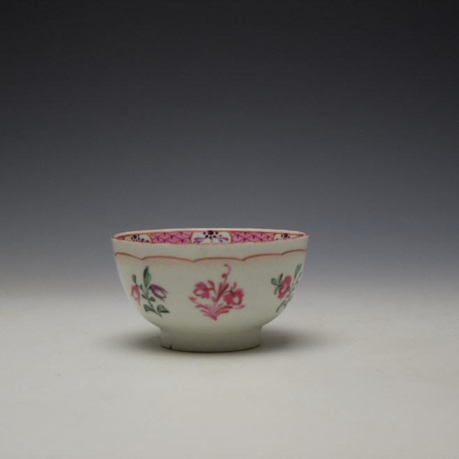 Baddeley-Littler Chinese Export Style Teabowl c1780-85 (1)
