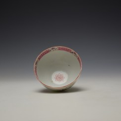 Baddeley-Littler Chinese Export Style Teabowl c1780-85 (6)