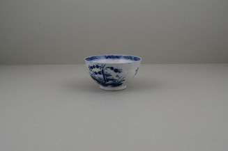 Caughley Porcelain Bridge and Windmil Pattern Teabowl, C1783-93 (5)