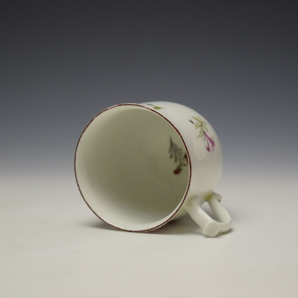 Chelsea Floral Pattern Coffee Cup c1755 (7)
