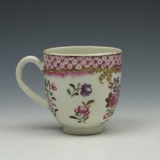 Worcester Comagnie Des Indes Coffee Cup c1770 (3)