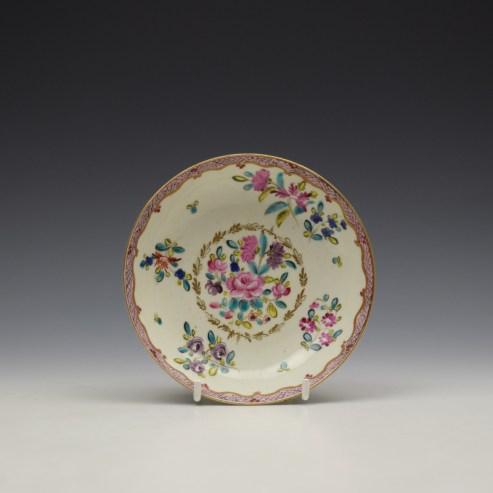 Comagnie Des Indes Pattern Saucer c1770 (1)