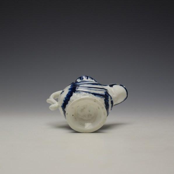 Derby Porcelain Moulded Dolphin Ewer c1770 (8)