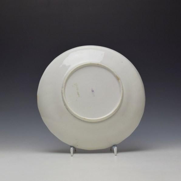 Derby Porcelain Moulded Saucer Dish c1770 (2)