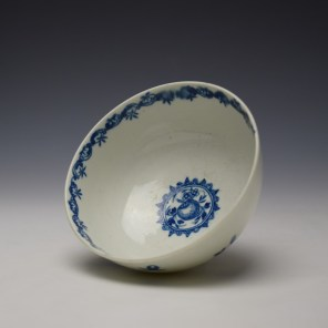Worcester Fruit and Wreath Pattern Sugar Bowl c1775-80 (6)