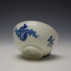 Worcester Fruit and Wreath Pattern Sugar Bowl c1775-80 (7)
