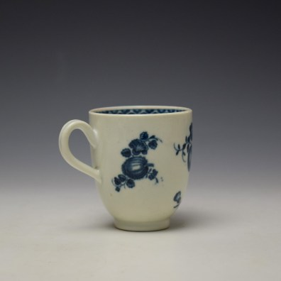Worcester Fruit Sprigs Pattern Coffee Cup c1770-80 (4)