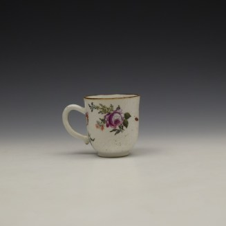 James Giles Decorated Floral Pattern Chinese Coffee Cup C1760 (4)
