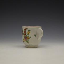 Liverpool John Pennington Floral Pattern Coffee Cup c1770 (5)