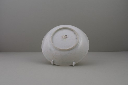 Liverpool Cannonball Pattern Saucer, C1770 (2)