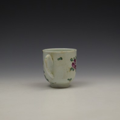 Liverpool John Pennington Floral Pattern Coffee Cup c1775-80 (5)