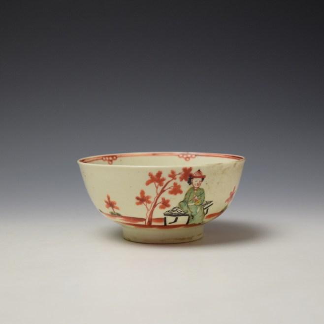 Liverpool John Pennington Mandarin Pattern Small Bowl c1775 (1)
