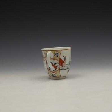 Worcester Mandarin Naughty Child Pattern Coffee Cup c1770-80 (5)