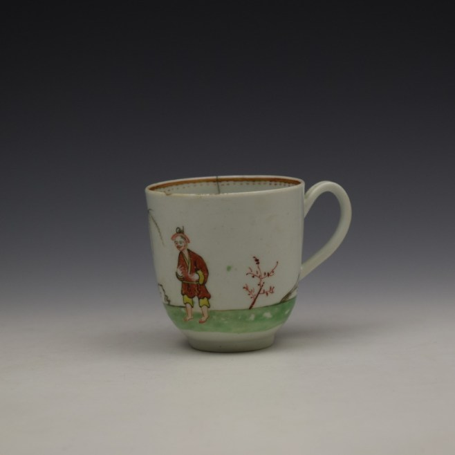 Worcester Mandarin Pattern Replacement Coffee Cup c1768-70 (1)