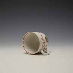 Bow Mandarin Pattern Coffee Cup c1765-70 (6)