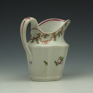 New Hall Pattern 195 Cream Jug c1790-1800 (5)
