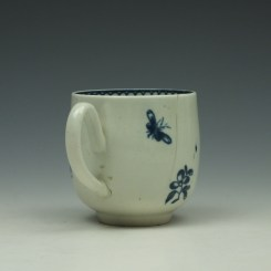 Liverpool Philip Christian Carnation Pattern Coffee Cup c1765-75 (4)