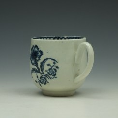 Liverpool Philip Christian Carnation Pattern Coffee Cup c1765-75 (5)