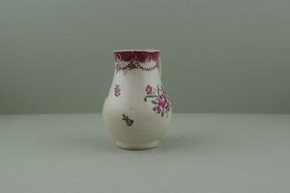 Liverpool Polychrome flower sprays pattern sparrow beak jug. b