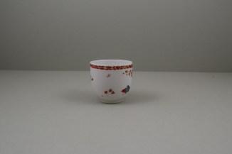 Bow Porcelain Quail Pattern Coffee Cup C1760 (3)