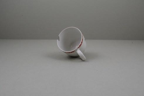 Bow Porcelain Quail Pattern Coffee Cup C1760 (8)