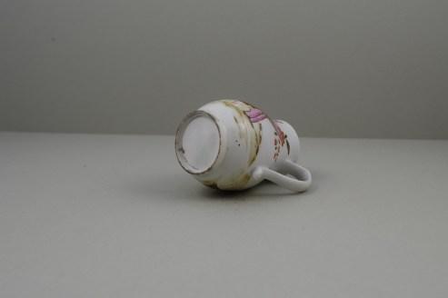 Lowestoft Porcelain Rare Bull Pattern Sparrow Beak Jug, C1772 (7)