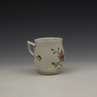 Derby Bird Peony and Rock Pattern Coffee Cup c1757-60 (3)