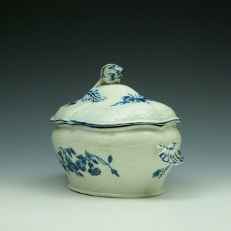 Worcester Wildflower Sprays Tureen and Cover c1775-80 (8)