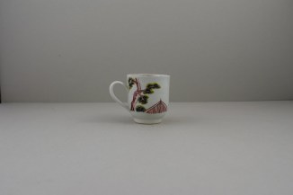 Liverpool Porcelain Richard Chaffers Mandarin Pattern Coffee Cup (4)