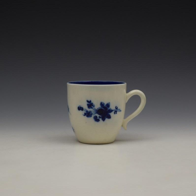 Caughley Salopian Sprigs Pattern Coffee Cupc1785-95 (1)