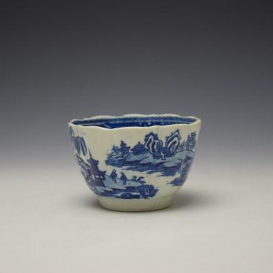 Worcester Temple Pattern Teabowl c1780-90 (5)