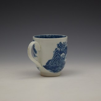 Caughley Fenced Garden Pattern Coffee Cup c1782-92 (5)