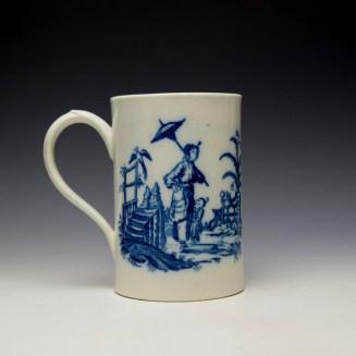 Caughley La Peche La Promenade Chinoise Pattern Mug c1776-92 (4)