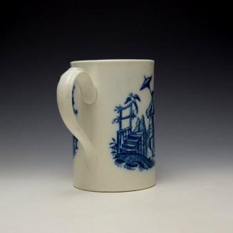 Caughley La Peche La Promenade Chinoise Pattern Mug c1776-92 (5)