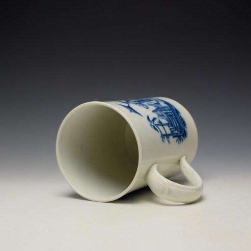 Caughley La Peche La Promenade Chinoise Pattern Mug c1776-92 (7)