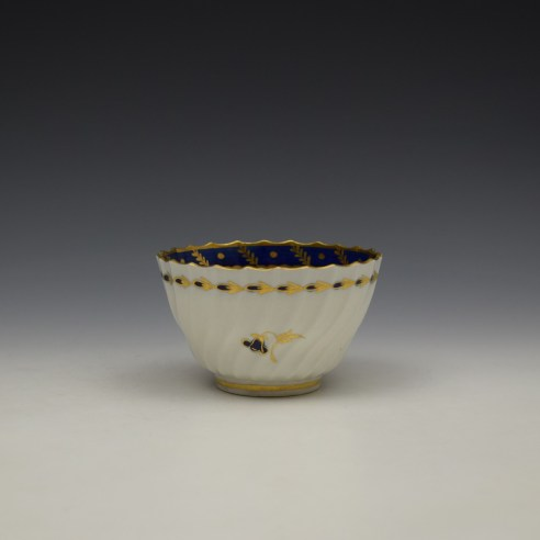 Worcester Flight Period Corn Sprigs Pattern Trio c1785 (11)