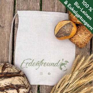 Bio-Leinen Brotbeutel klein