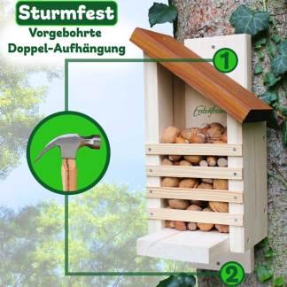 Eichhörnchen Futterkasten