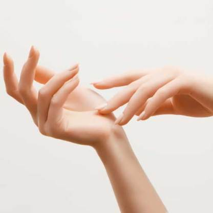 Handpflege feste Hautcreme