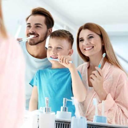 Erdenfreund Zahnpulver Zähne putzen