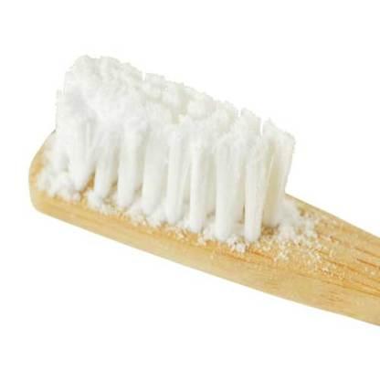 Erdenfreund Zahnpulver Zahnbürste