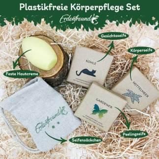 Plastikfreie Körperpflege Set