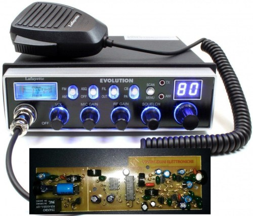 small resolution of lafayette evolution with echo beep colt board multistandard am fm cb mobile transceiver